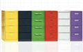 4 Drawer Colorful File Cabinet