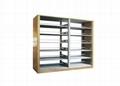 Folding Metal Library Shelf  1