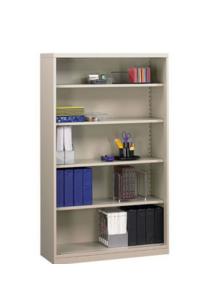 Steel Office Open Shelf with 4 Adjustable She  es  1