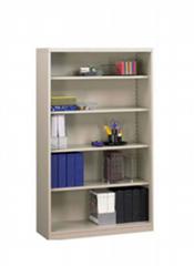 Steel Office Open Shelf with 4 Adjustable Shelves