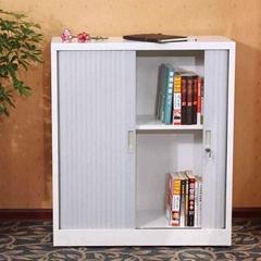 Roller shutter door cabinet