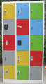 Various Color and Lock 15 Doors Metal