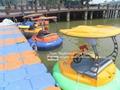 adult bumper aqua water boat