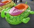 aqua water boat bumper kids electric