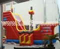 inflatable bouncy castle comb slide  1
