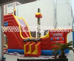 inflatable bouncy castle comb slide