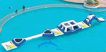 water trampoline aqua pillow water park 1