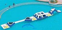 water trampoline aqua pillow water park