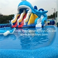 inflatable seasaw  water park 1