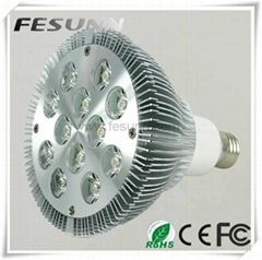 PAR38 12W E27 GU10 Dimmable led light bulb DC12 or AC85-265V