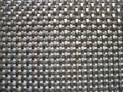 扁帶軋花編織不鏽鋼裝飾網