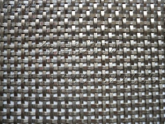 Flat crimped stainless steel decorative mesh