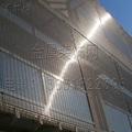 Metal facade architectural mesh