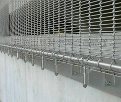 stainless steel wire mesh curtain wall