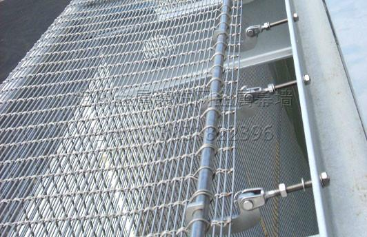 Mesh Curtain Wall : Stainless steel wire mesh curtain wall fed bxg