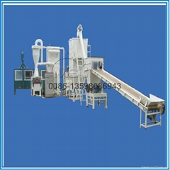 Waste printed circuit board recycling machine/ pcb recycling line