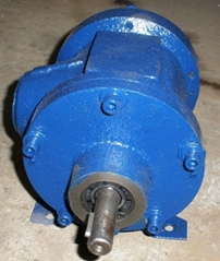 Small Vacuum Pump Vane Type and Electric Motor Assembly