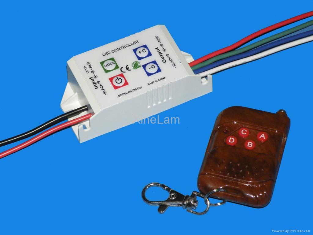 led rgb controller 7 color drivers rx dm c01 2 xinelam china manufacturer led lighting. Black Bedroom Furniture Sets. Home Design Ideas
