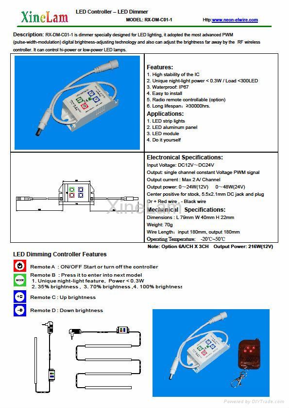 LED dimmer -  LED Intelligent Dim Switch 2