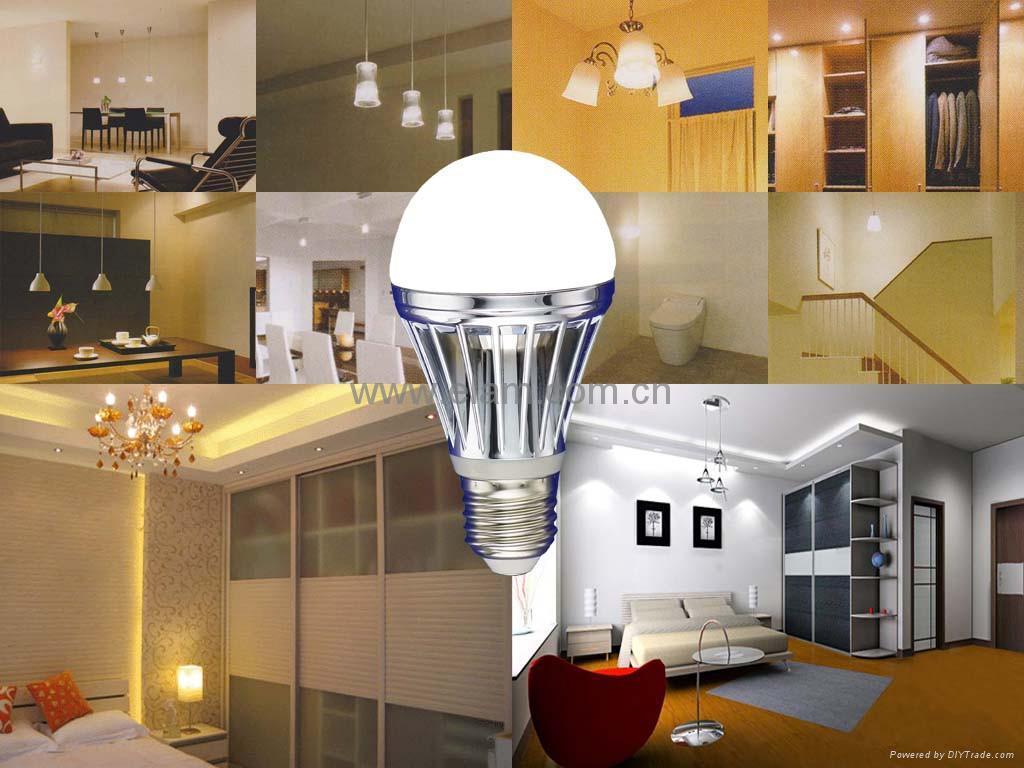 超高光效LED球泡灯-节能90% 2