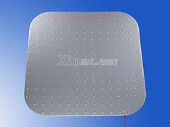 Round corner LED panel l