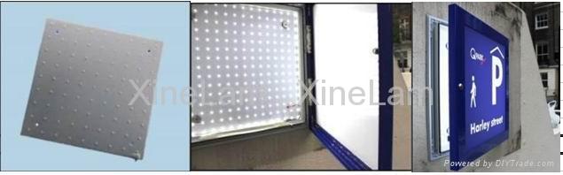 防水LED铝板专用于户外灯箱 5