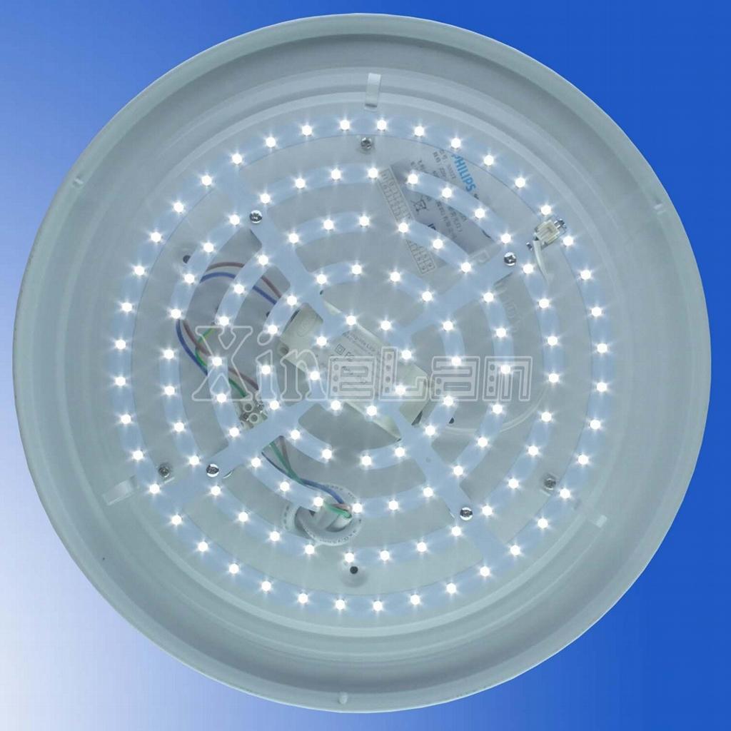 新设计-不防水 LED 吸顶灯套件替换荧光灯-长寿命-无闪烁 1