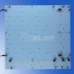 Perfectly uniform light modular panel led illuminated light boxes