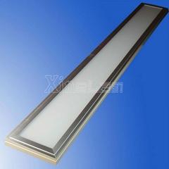 150x1200x28mm direct -lit lighting led panel light NO flicker.CRI>80