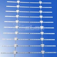 經濟型LED 軟捲簾 背光廣告燈箱(雙面燈可選)