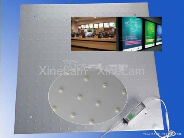經濟型LED 軟捲簾 背光廣告燈箱(雙面燈可選) 5