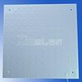 3mm slim rigid led ceiling lamp 100lm/w ip67 sizes customized 2