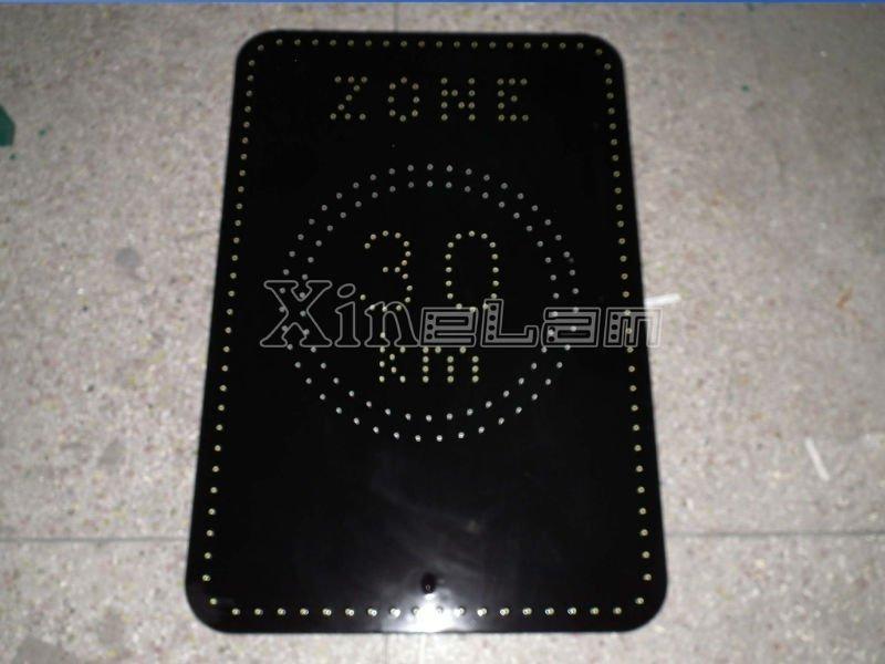 Bespoke black epoxy 12v led panel light for backlit applications 2