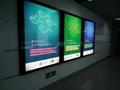 Ultra-thin 3mm led backlit slim ad panel light,waterproof IP67  5