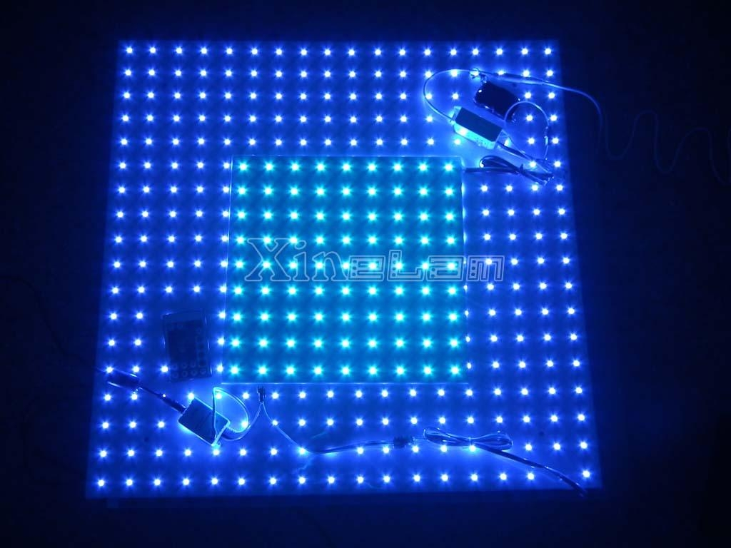 20x20 30x30 60x60 rgb led backlit slim panel light rx. Black Bedroom Furniture Sets. Home Design Ideas
