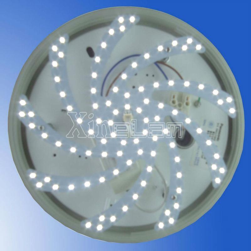 Spiral arm light led aluminum plate fluorescent replacement 3