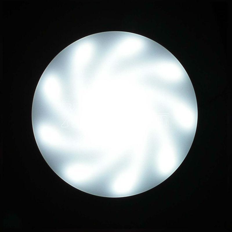 Spiral arm light led aluminum plate fluorescent replacement 4