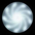 Spiral arm light led aluminum plate fluorescent replacement 5