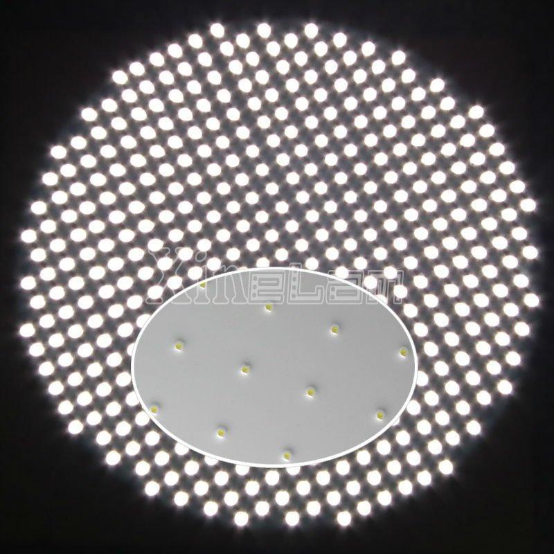 3毫米超薄独特设计LED圆形铝板灯 2