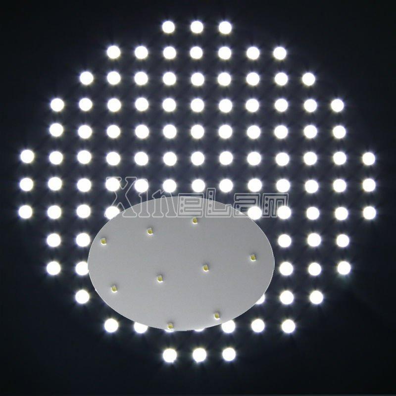 Round Shape frameless led light panel led illumination 3
