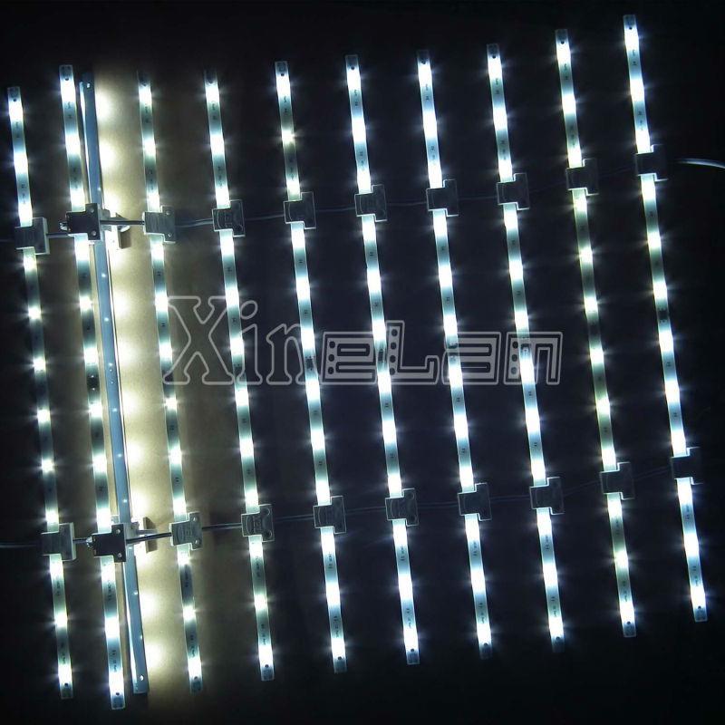 点阵型柔性LED网格灯照亮广告灯箱 3