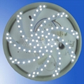 旋臂光設計 2835 led smd pcb板 熒光燈替換 4