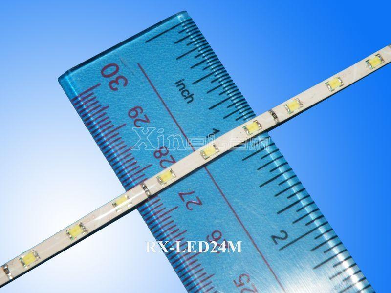 Types 1206/3528 warm white flexible led strip reel 3mm width 3