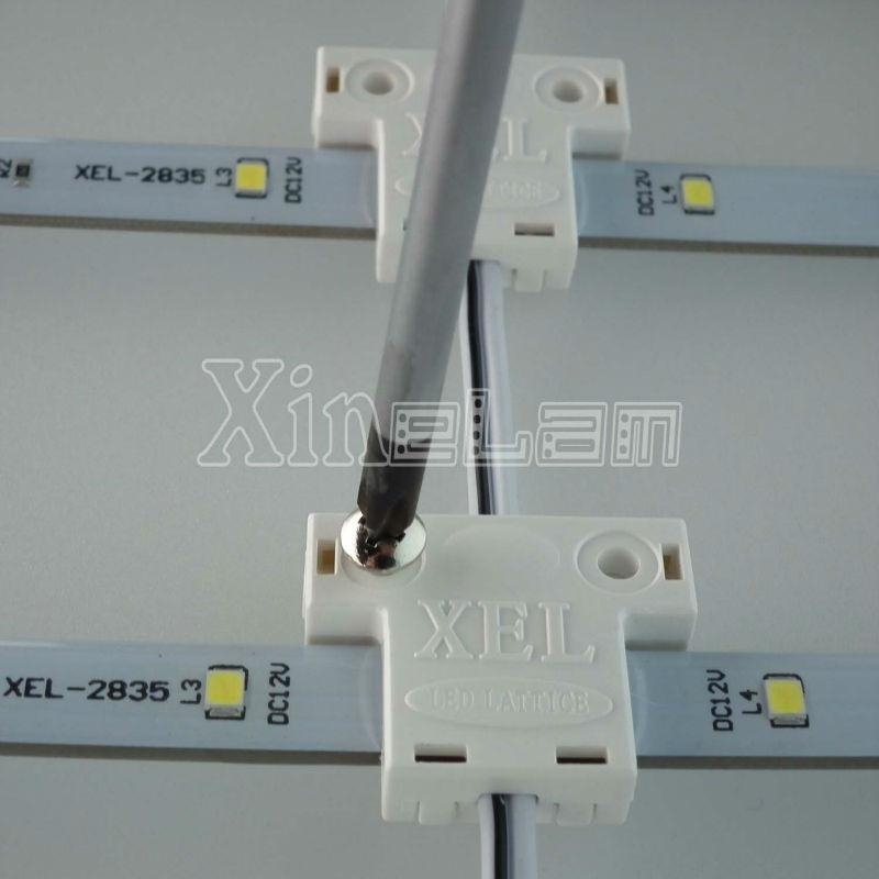Curtain style advertising light boxes united LED backlit Solution 4