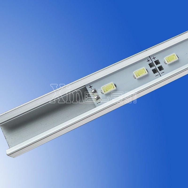 72LED/M U V slot non-waterproof SMD 5730 rigid aluminium led strips 2