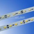 72LED/M U V slot non-waterproof SMD 5730 rigid aluminium led strips 3