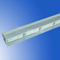 72LED/M U V slot non-waterproof SMD 5730 rigid aluminium led strips 4