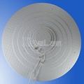 3mm thin slim round shape led panel light backlight 3