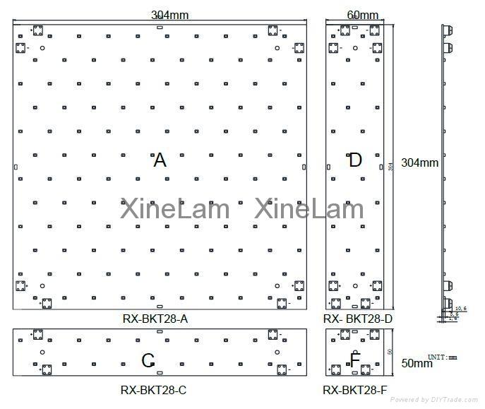 简单连接LED广告灯箱背光模组-恒流 24V 5
