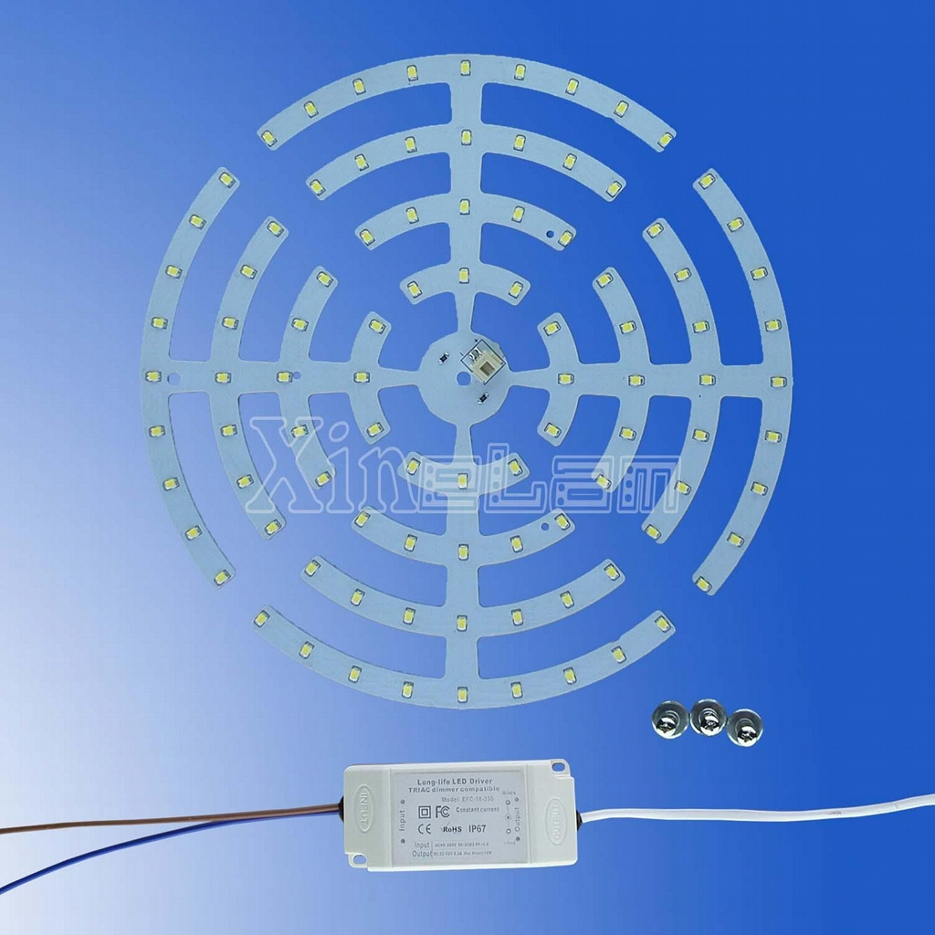 Non Waterproof LED ceiling KIT - 2d lamp replacement 5